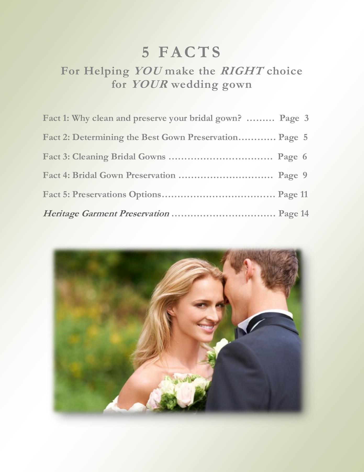 Wedding Gown Preservation Report   FlipHTML5