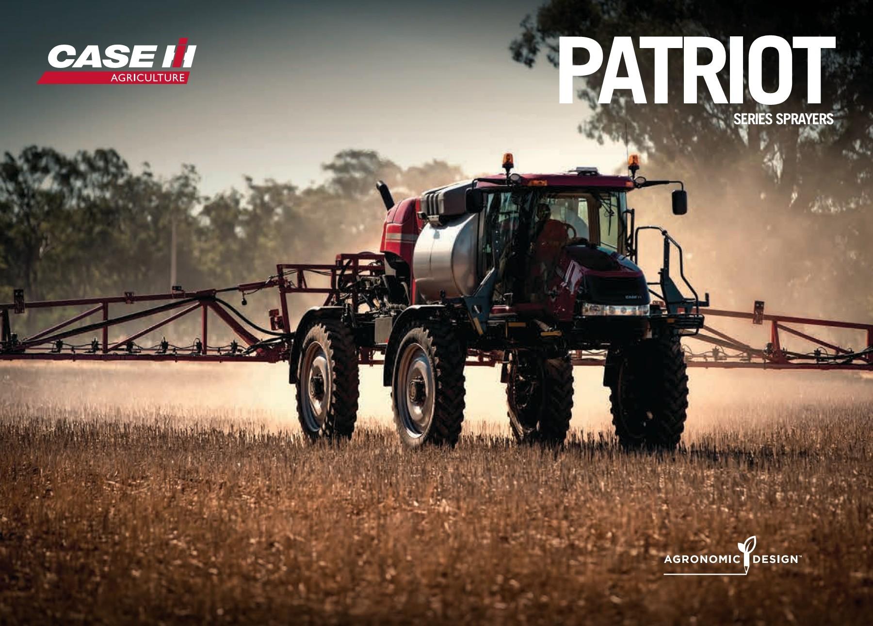 Patriot Series Sprayers | Case IH