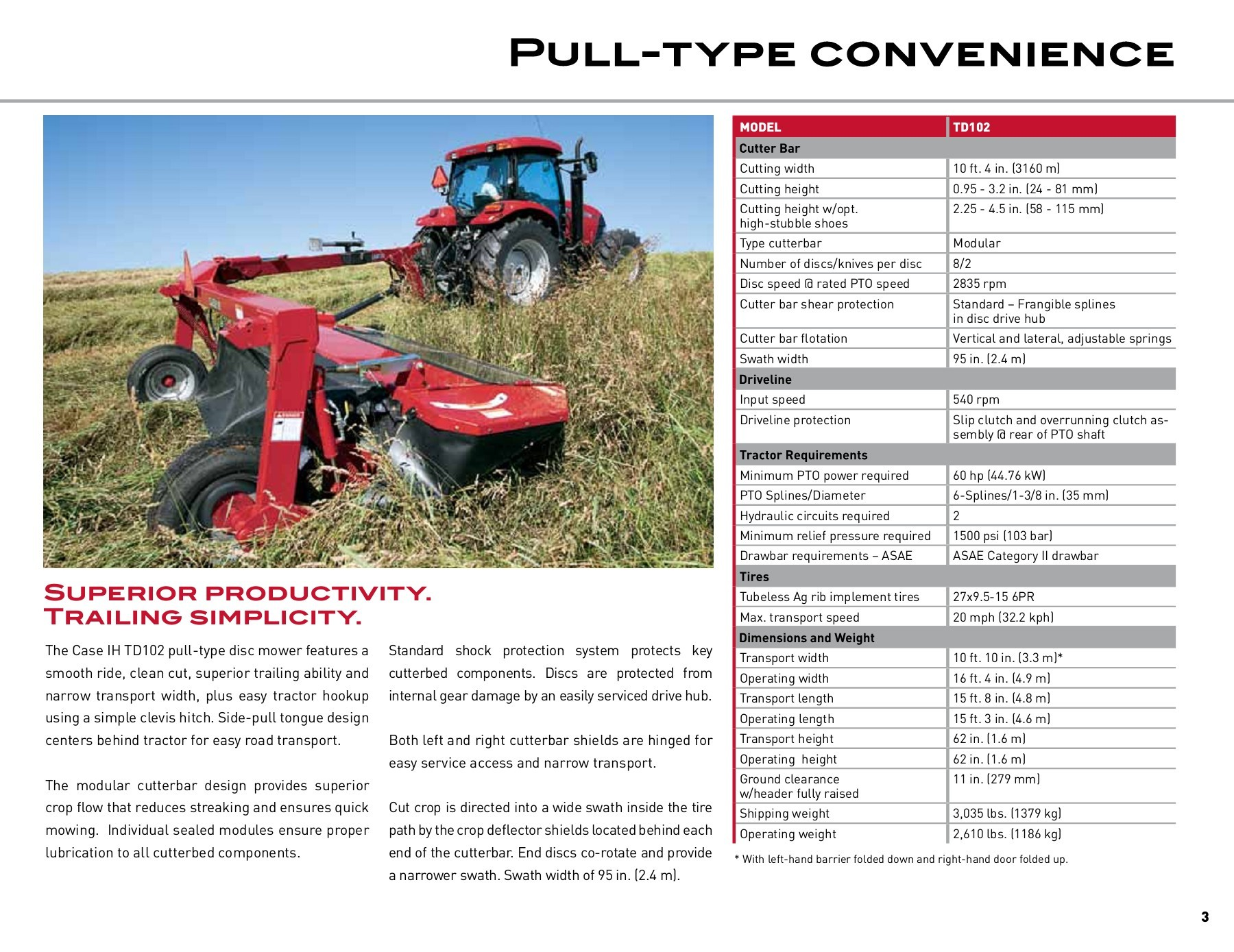 Rotary Disc Mowers Conditioners | Case IH