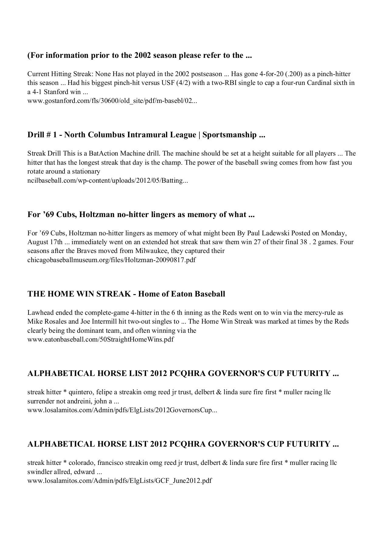 Download Streak Hitter pdf Free | FlipHTML5