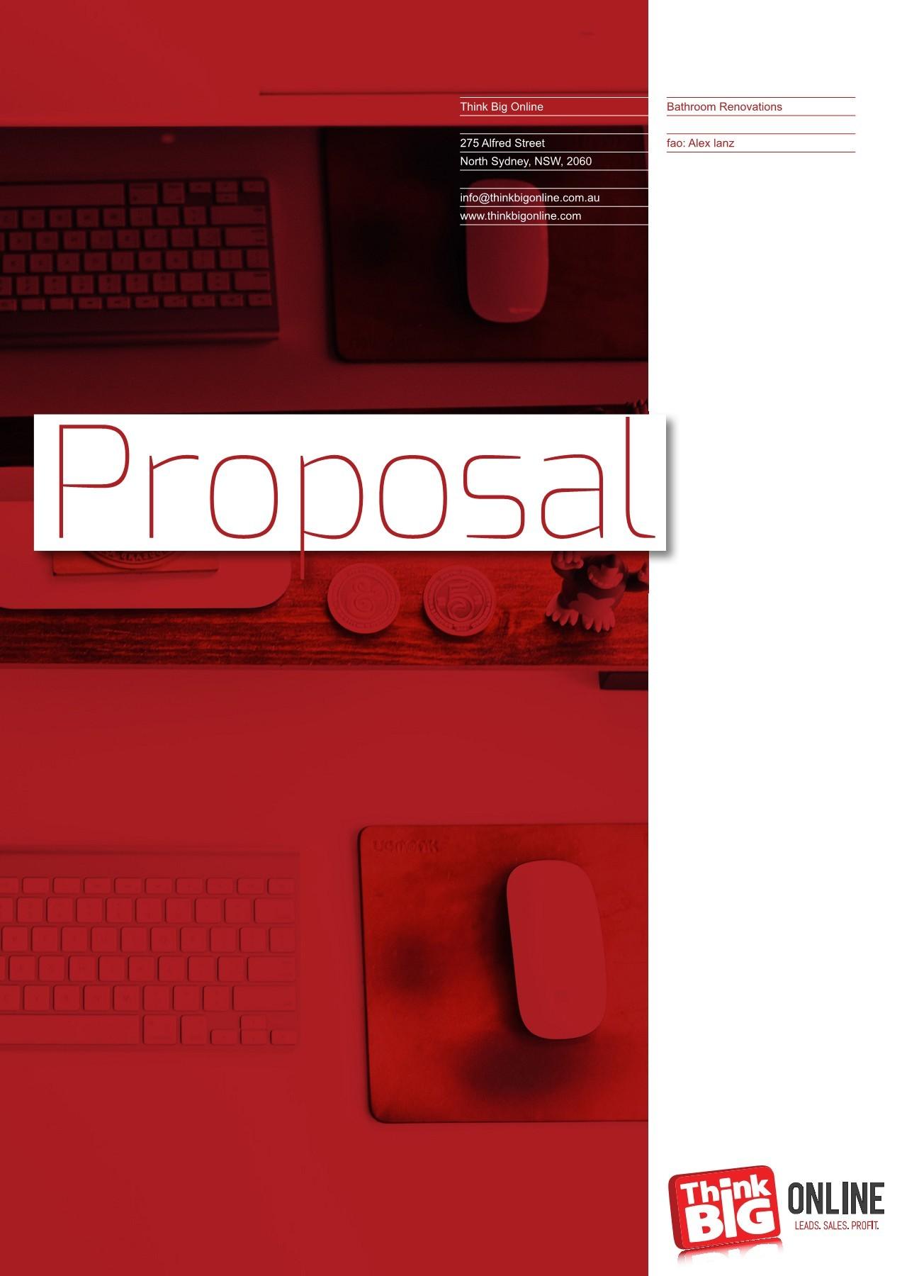 think big online proposal bathroom renovations fliphtml5