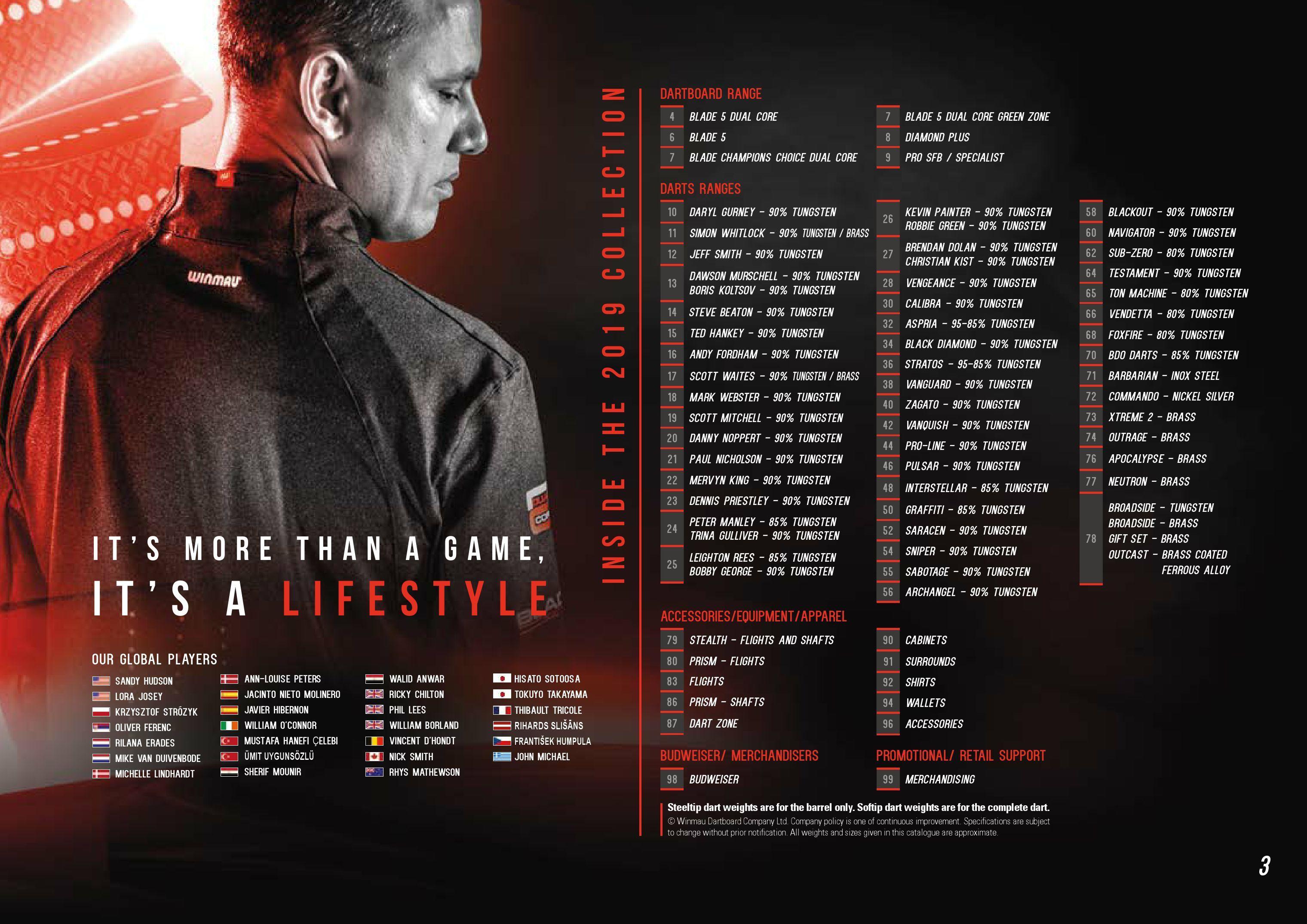 Winmau - Brochure