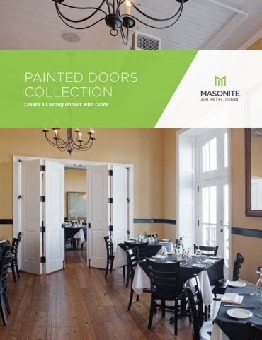 Masonite Architectural Painted Door Collection Brochure