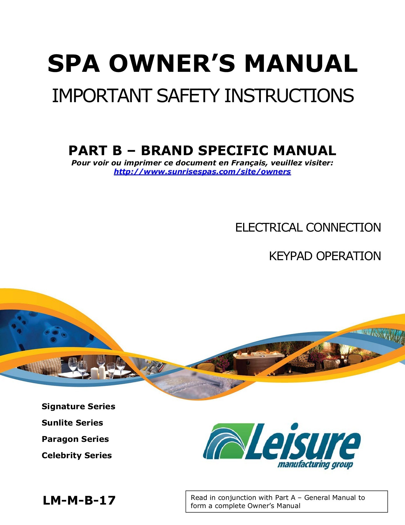 sunrise spas hot tubs owner resources guides and manuals rh jacuzziontario com jacuzzi j-270 owner's manual jacuzzi owners manuals online