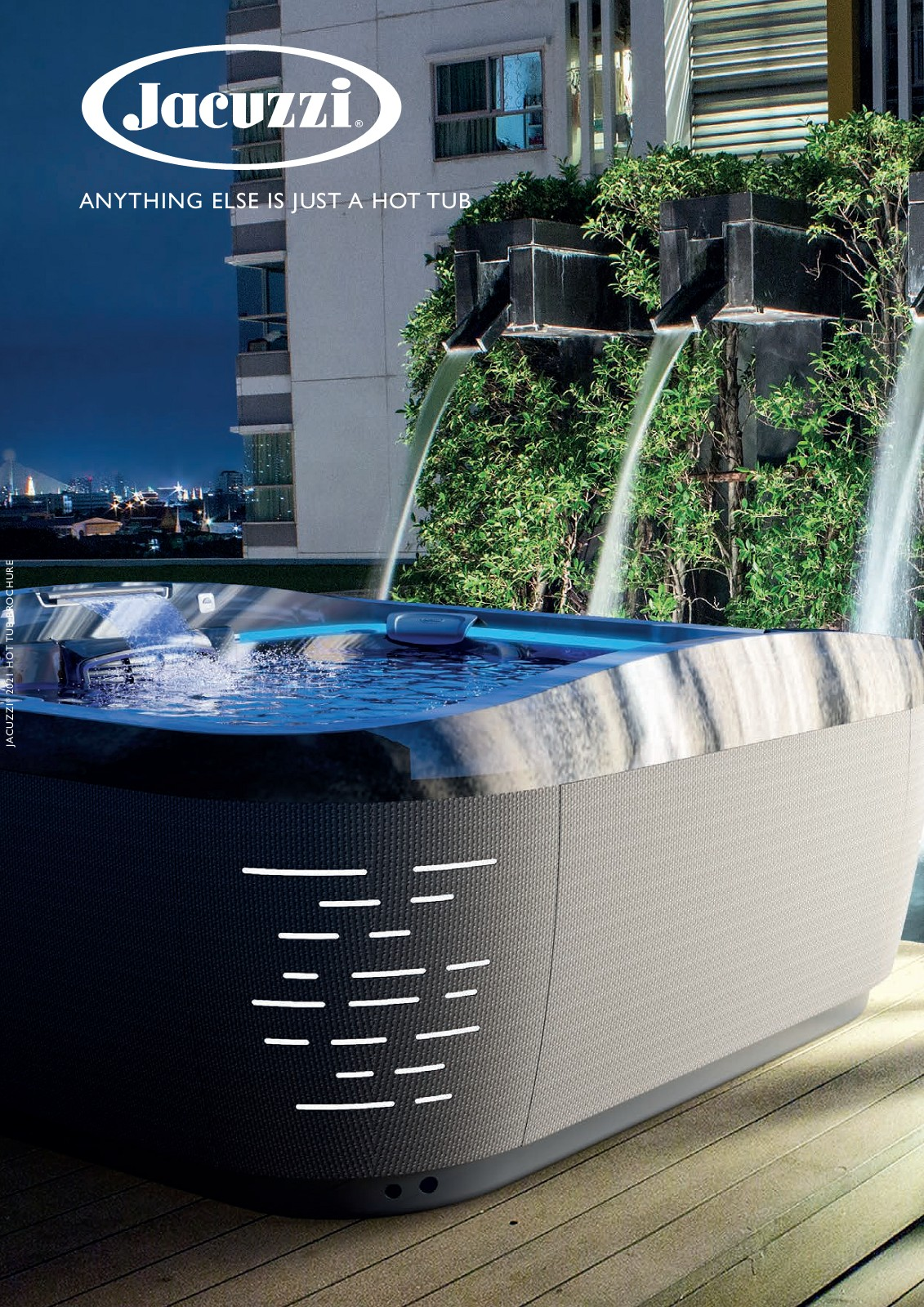 Jacuzzi Brochure - Intro To The World-Leading Hot Tub Brand