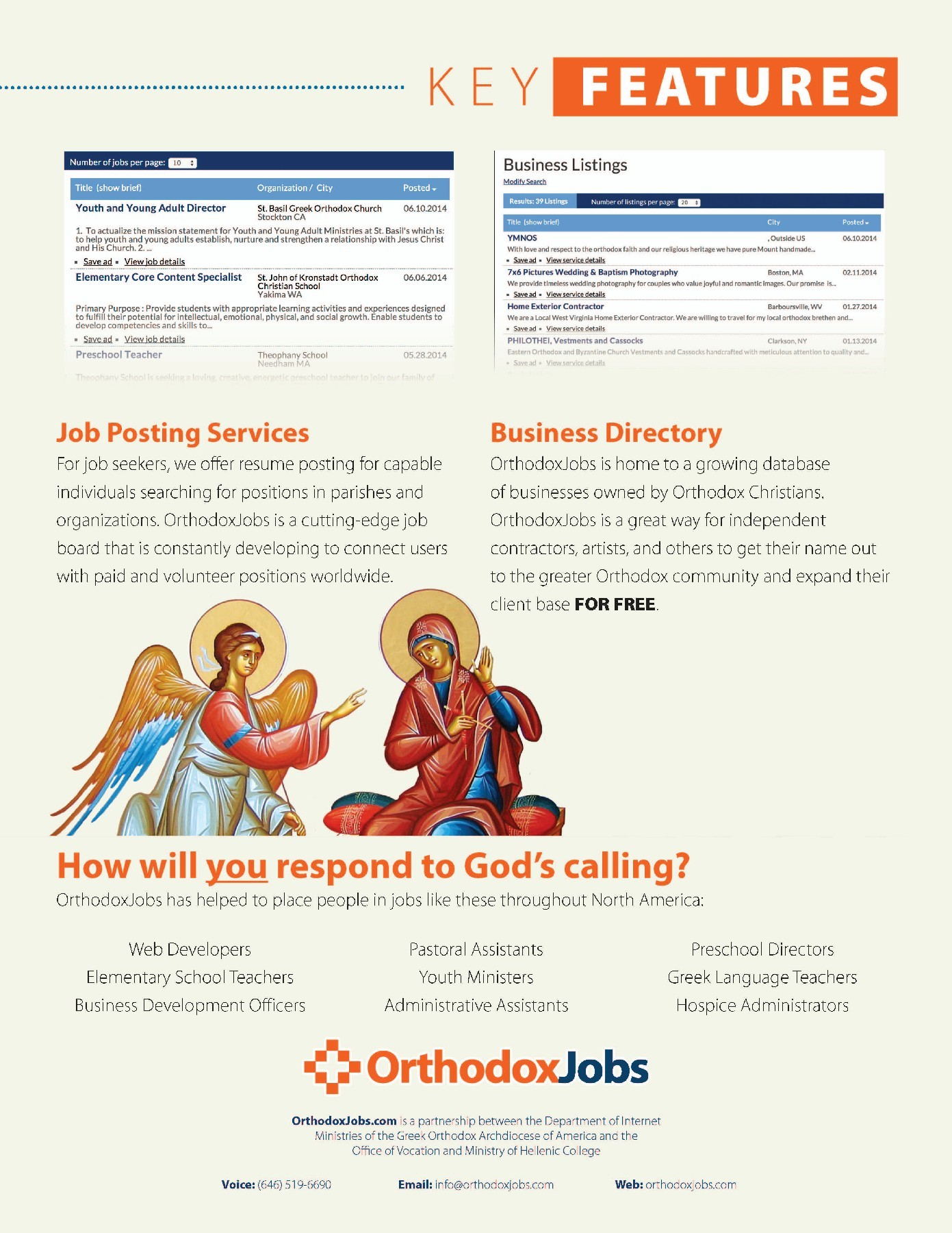 Orthodox Jobs - All Products & Services - Greek Orthodox Archdiocese ...