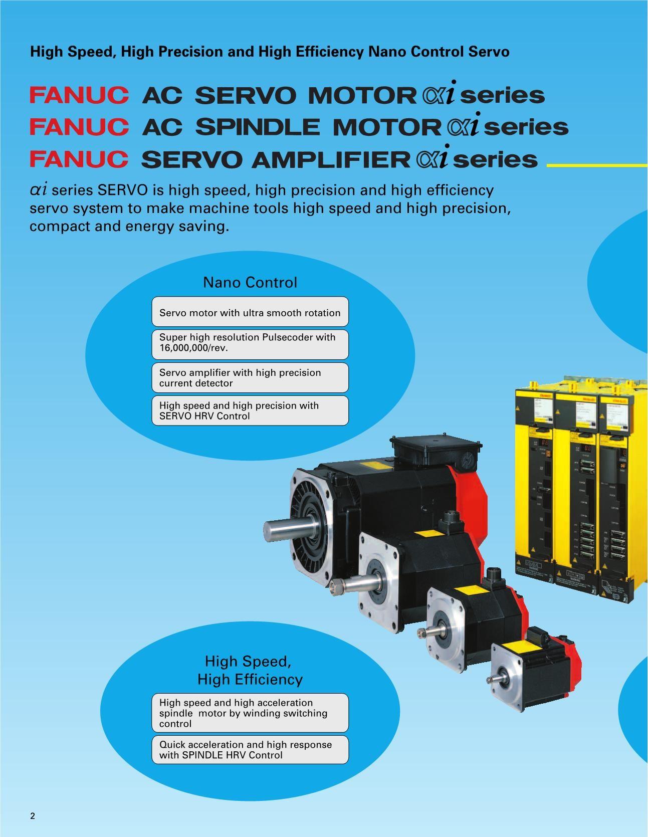 FANUC AC SERVO MOTOR & i series | FlipHTML5