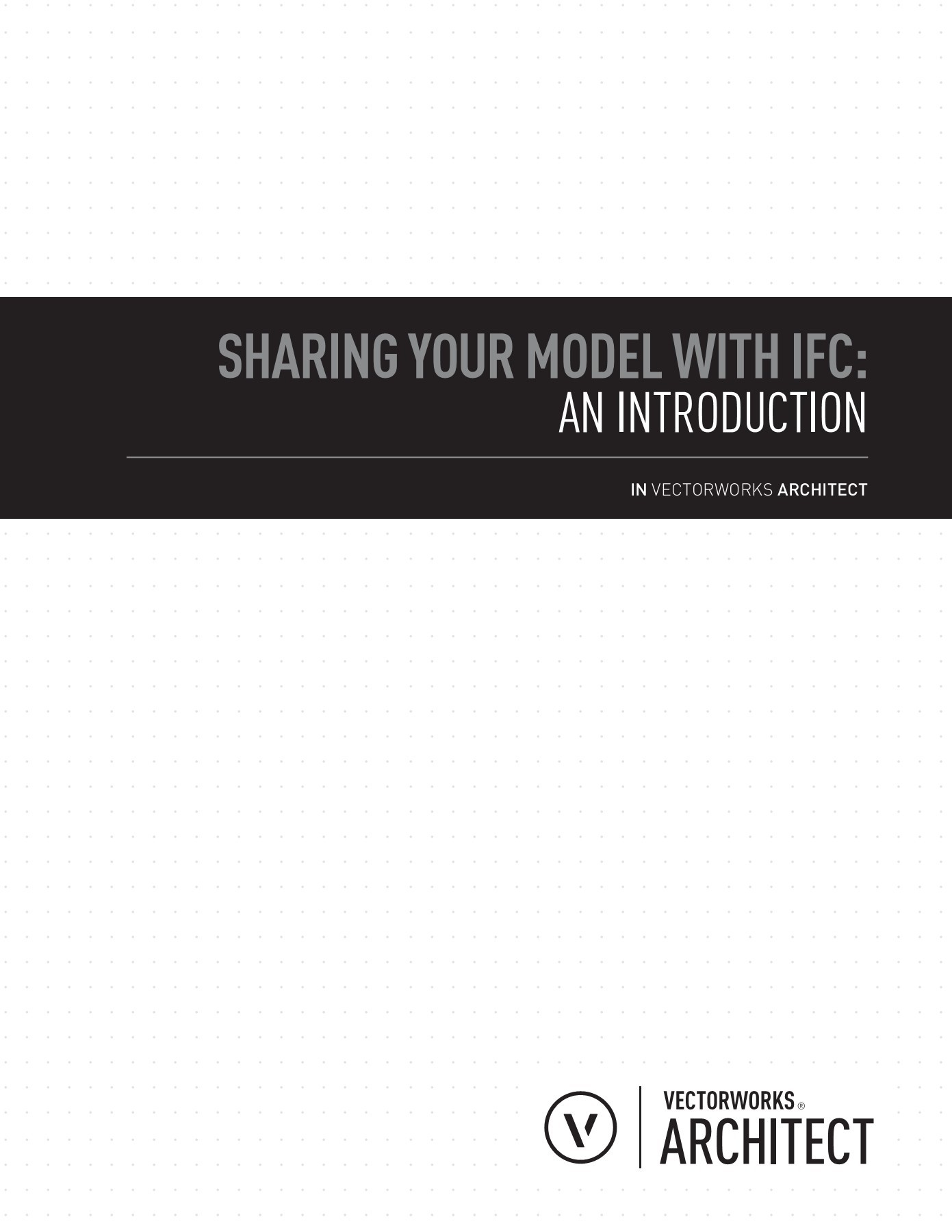 Sharing your Model with IFC