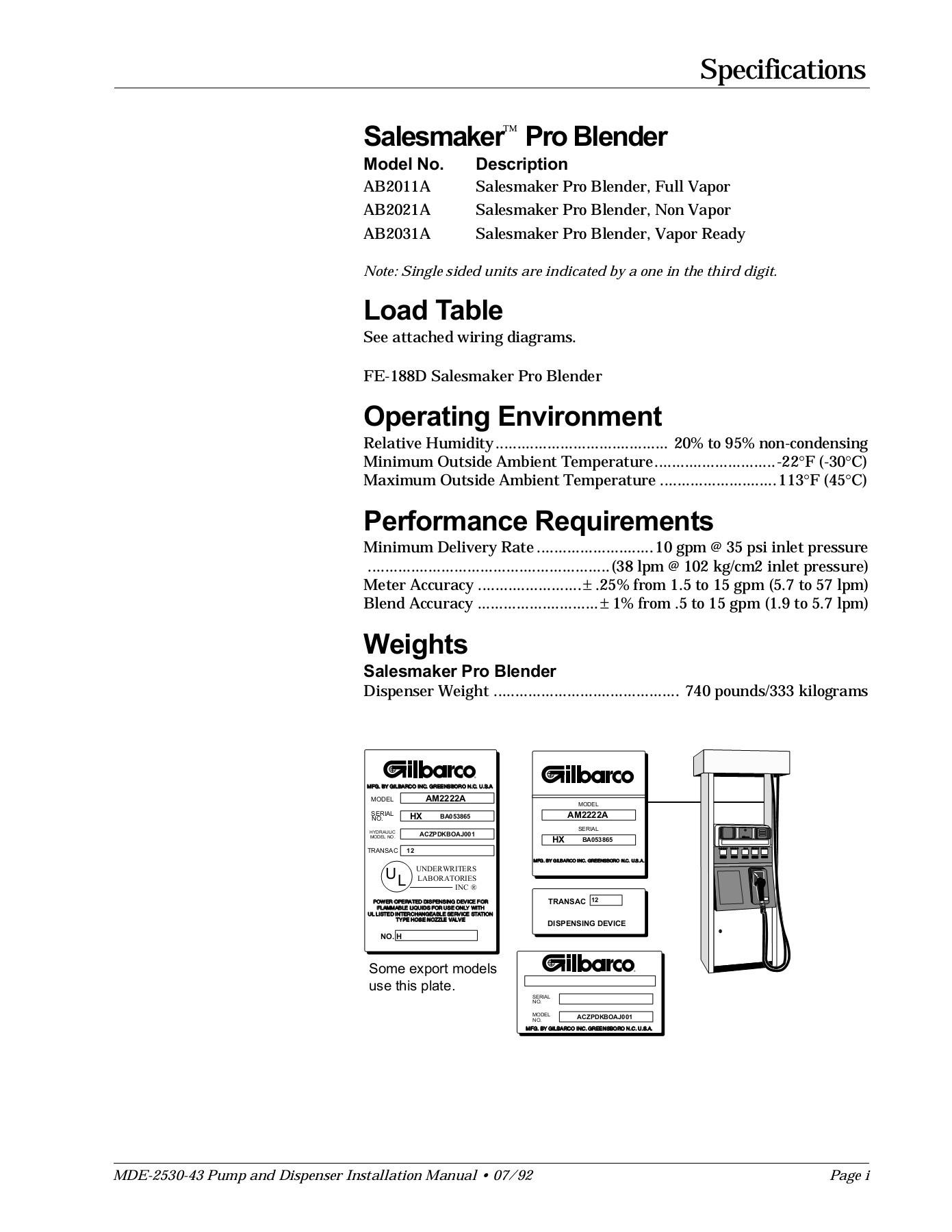 Salesmaker Pro Blender Petroleum Equipment Service Fliphtml5 Gilbarco Gas Pump Wiring Diagram