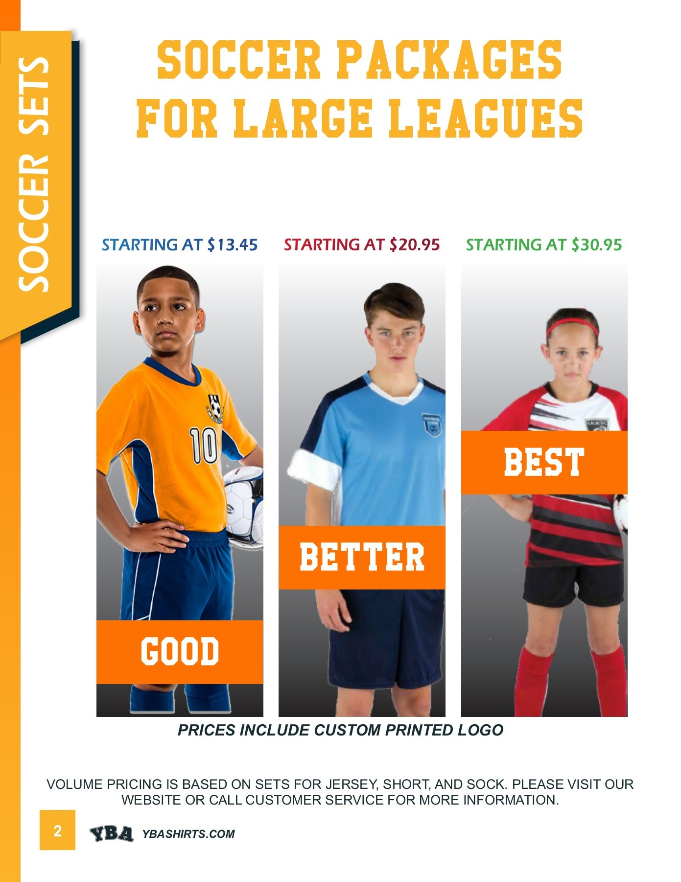 League Soccer Socks Yba Shirts