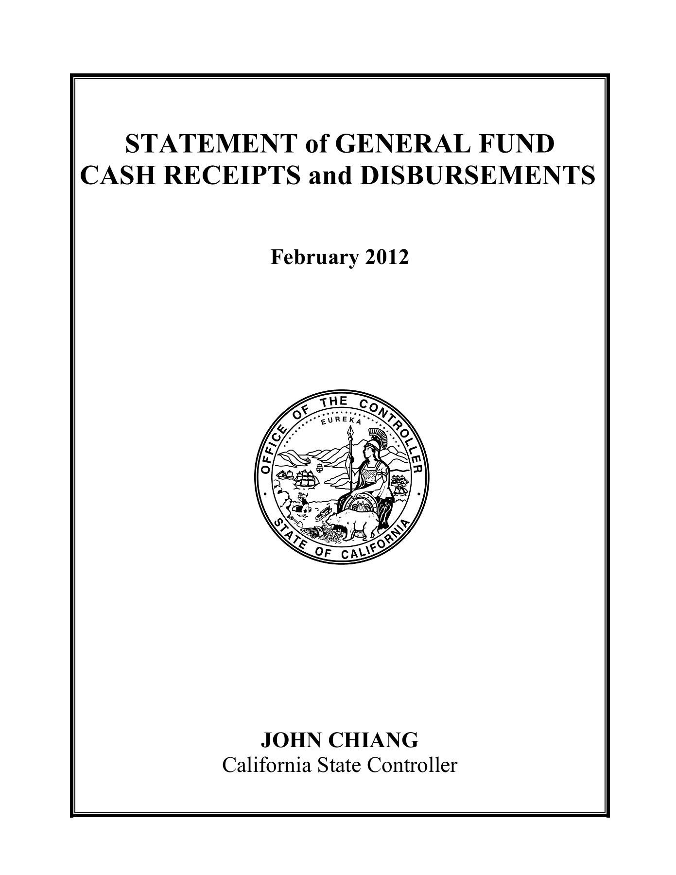 statement of general fund cash receipts and disbursements fliphtml5