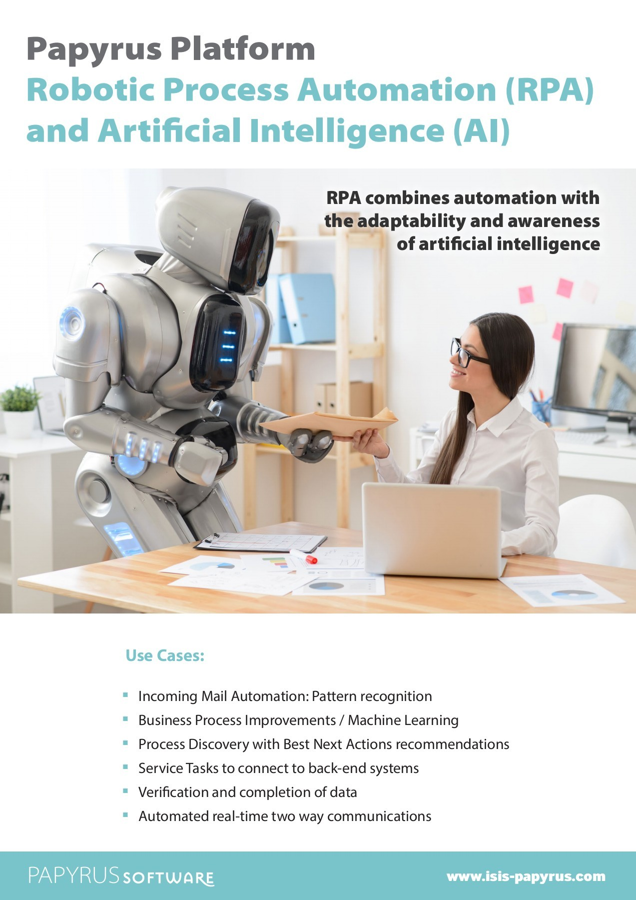 ISIS Papyrus - Robotic Process Automation (RPA) and Artificial