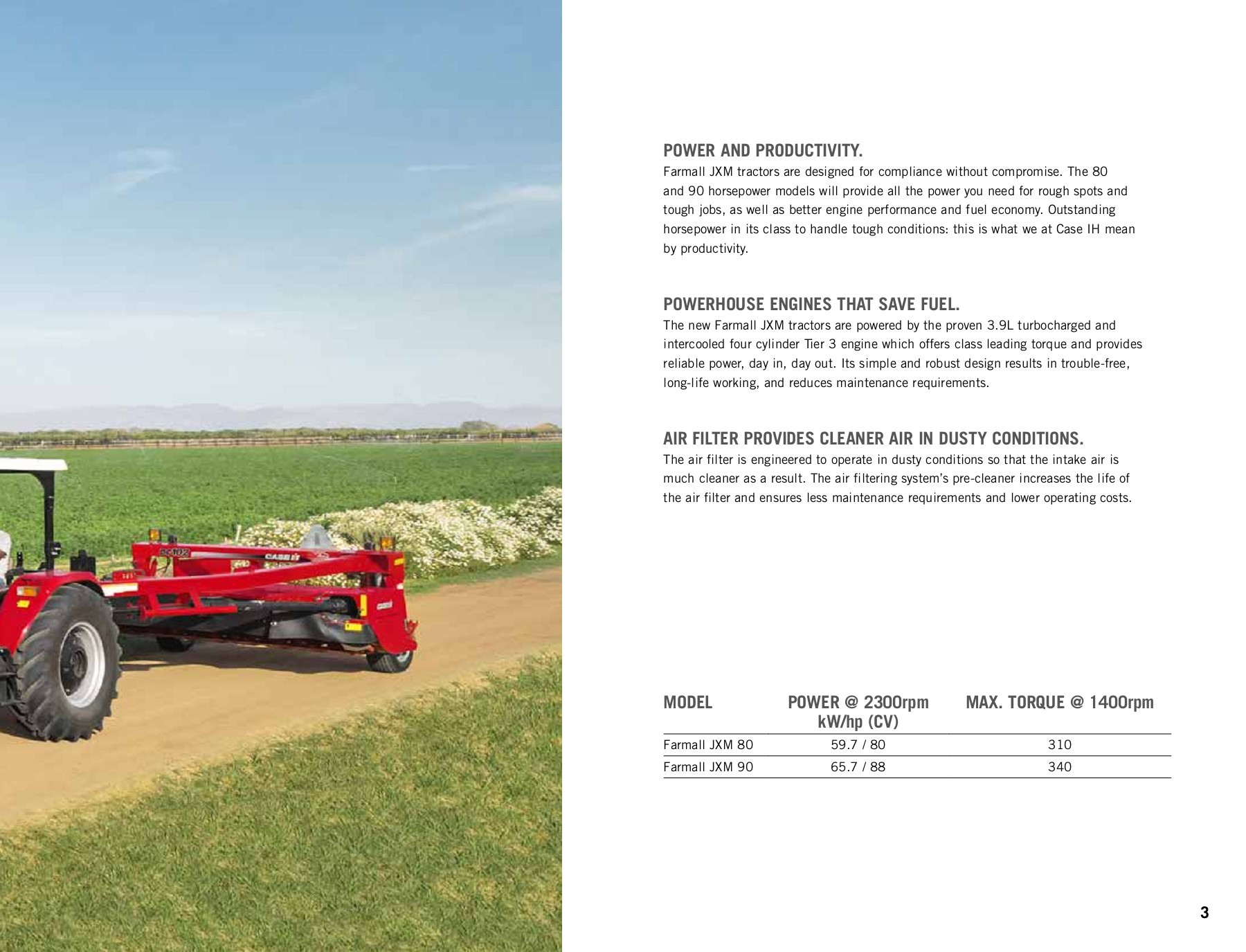 Farmall JXM   Tractors   Case IH