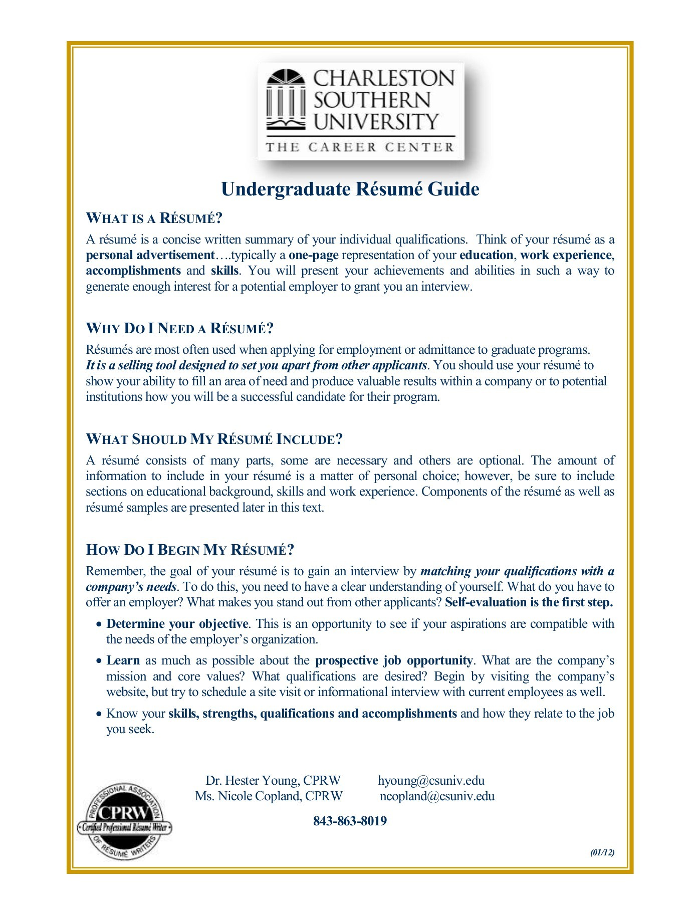 What Is A Resume Charleston Southern University Fliphtml5