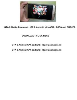 gta v mobile apk ios