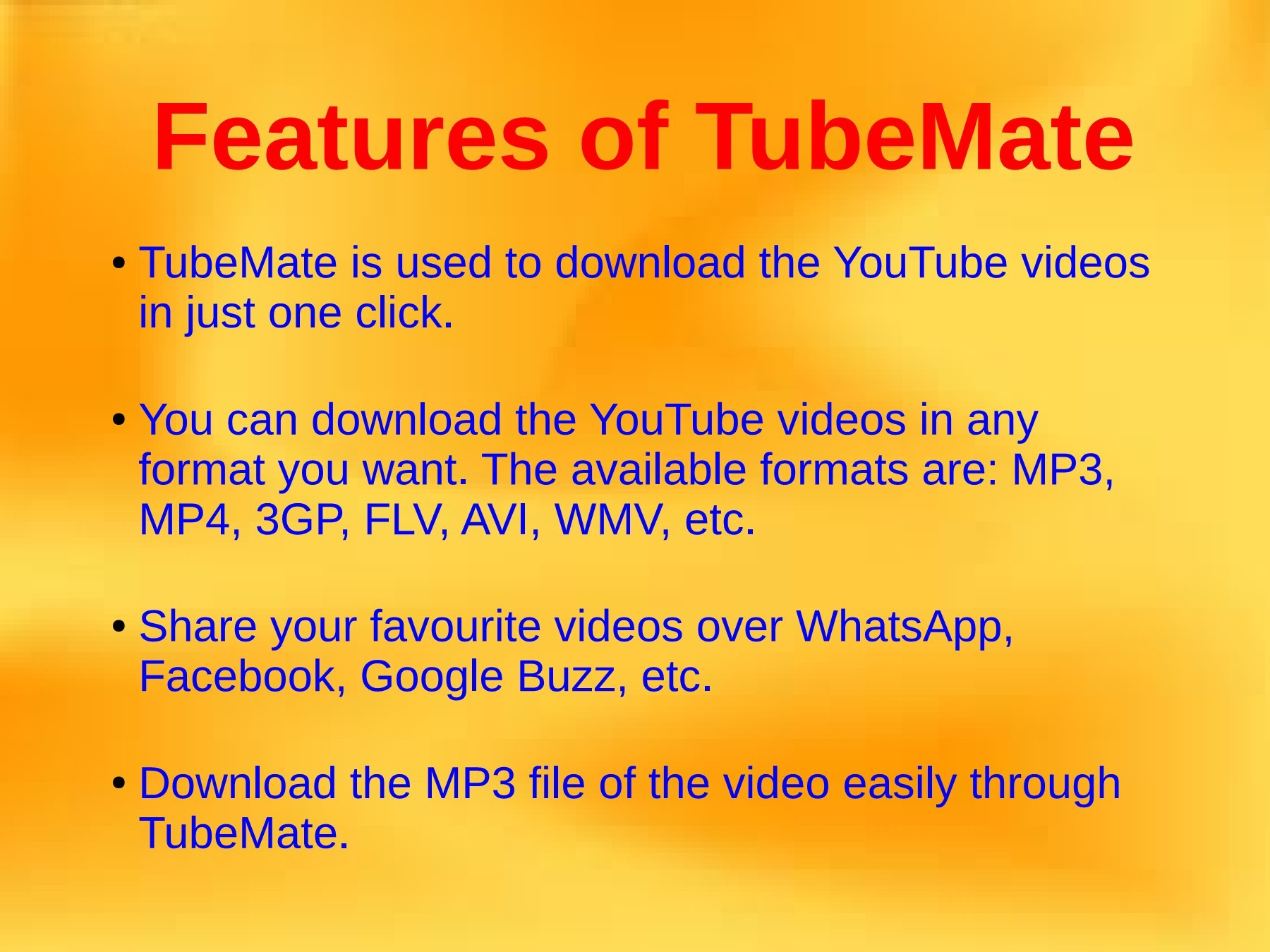 Download TubeMate YouTube Downloader for Your Laptop