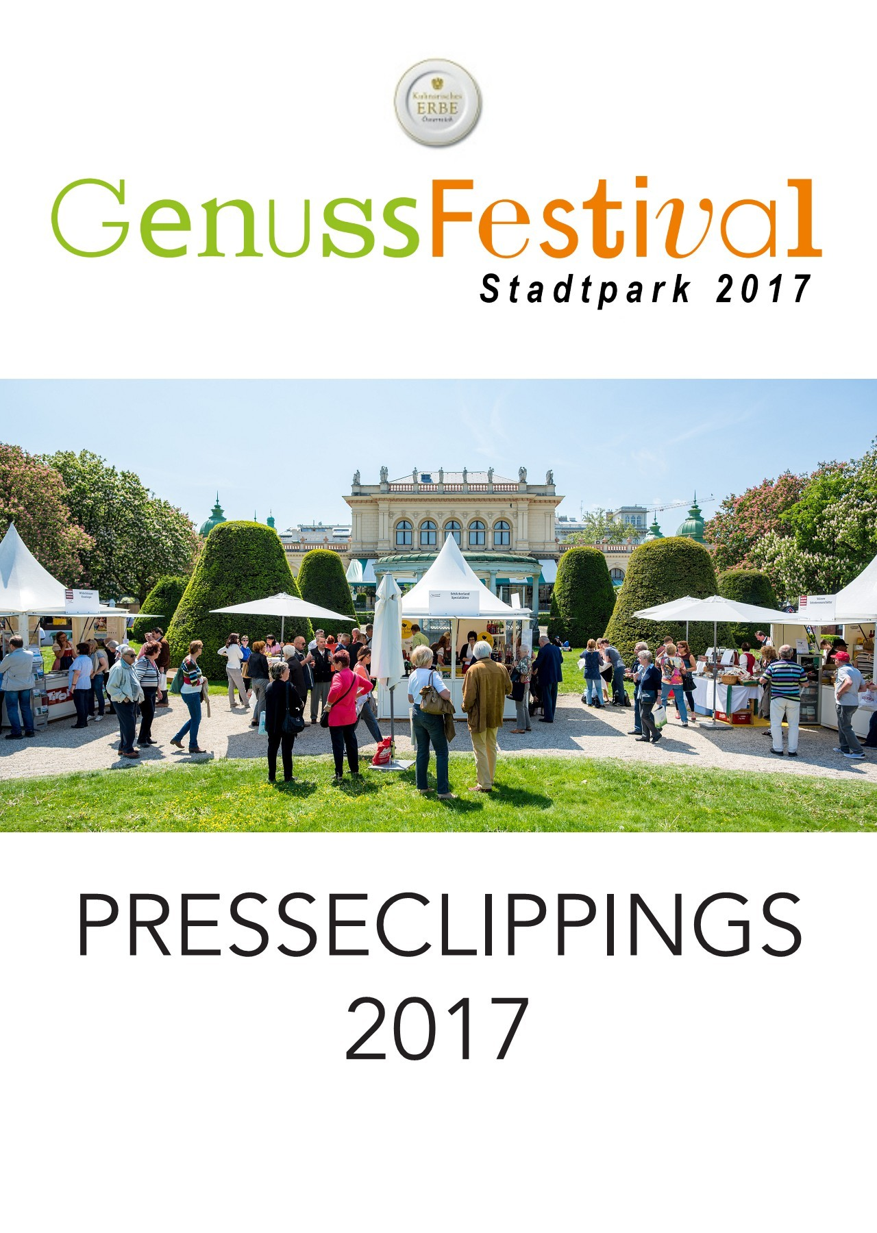 Genussfestival 2017 Pressemappe Pubhtml5