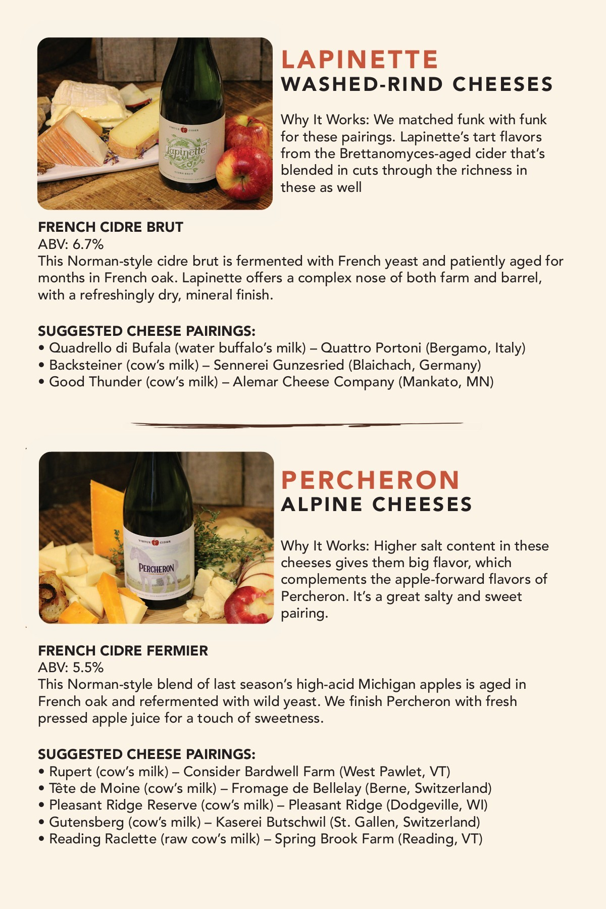 09e1d7fb0c0 Cider and Cheese Pairing Guide — Virtue Cider