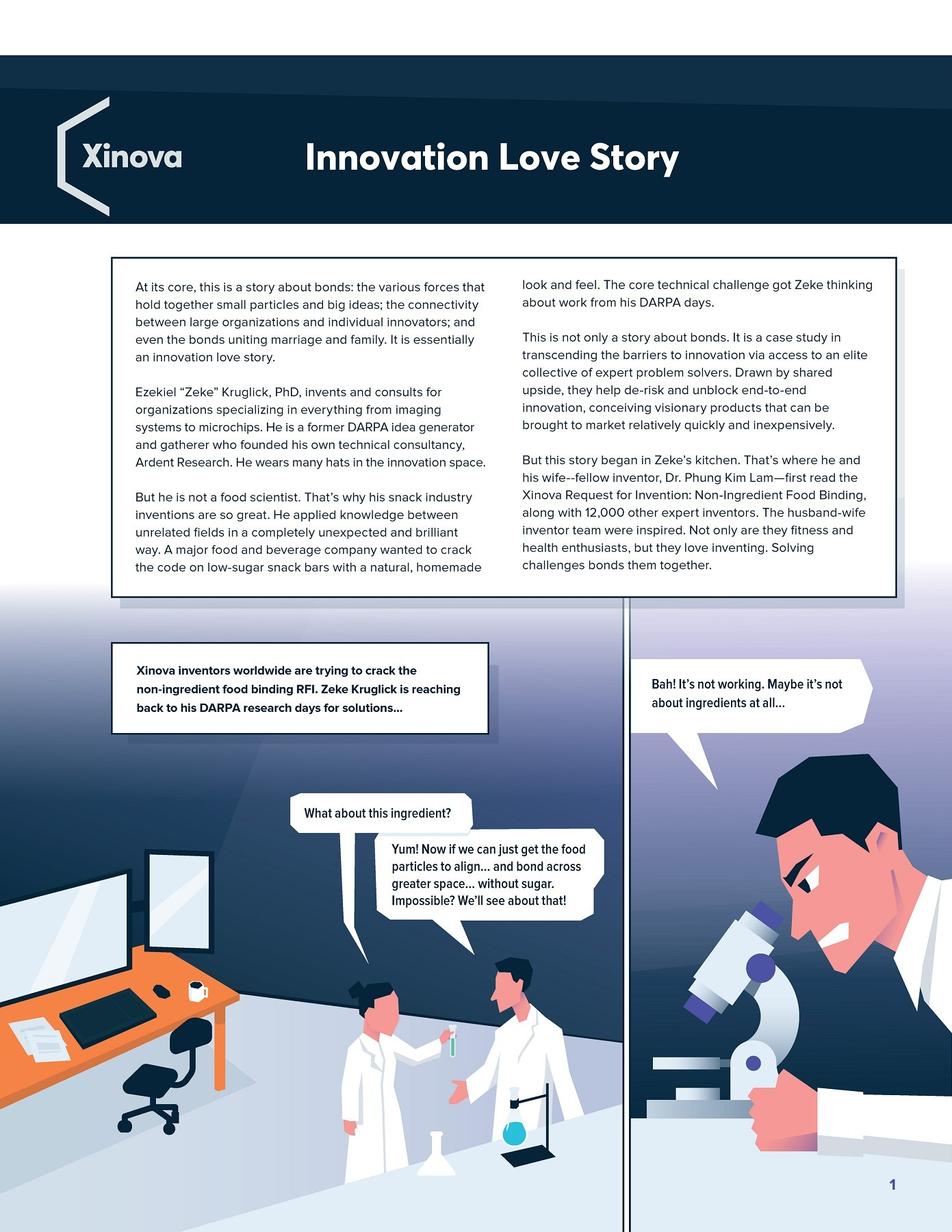 Innovation love story -