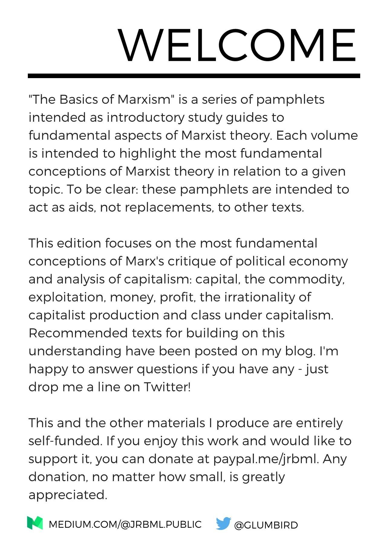karl marx theory of capitalism