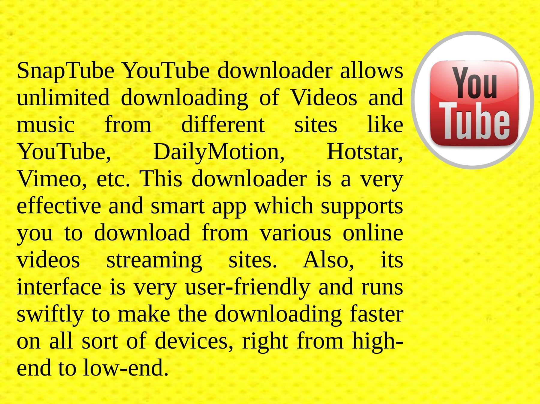 Download YouTube Videos With SnapTube App | PubHTML5