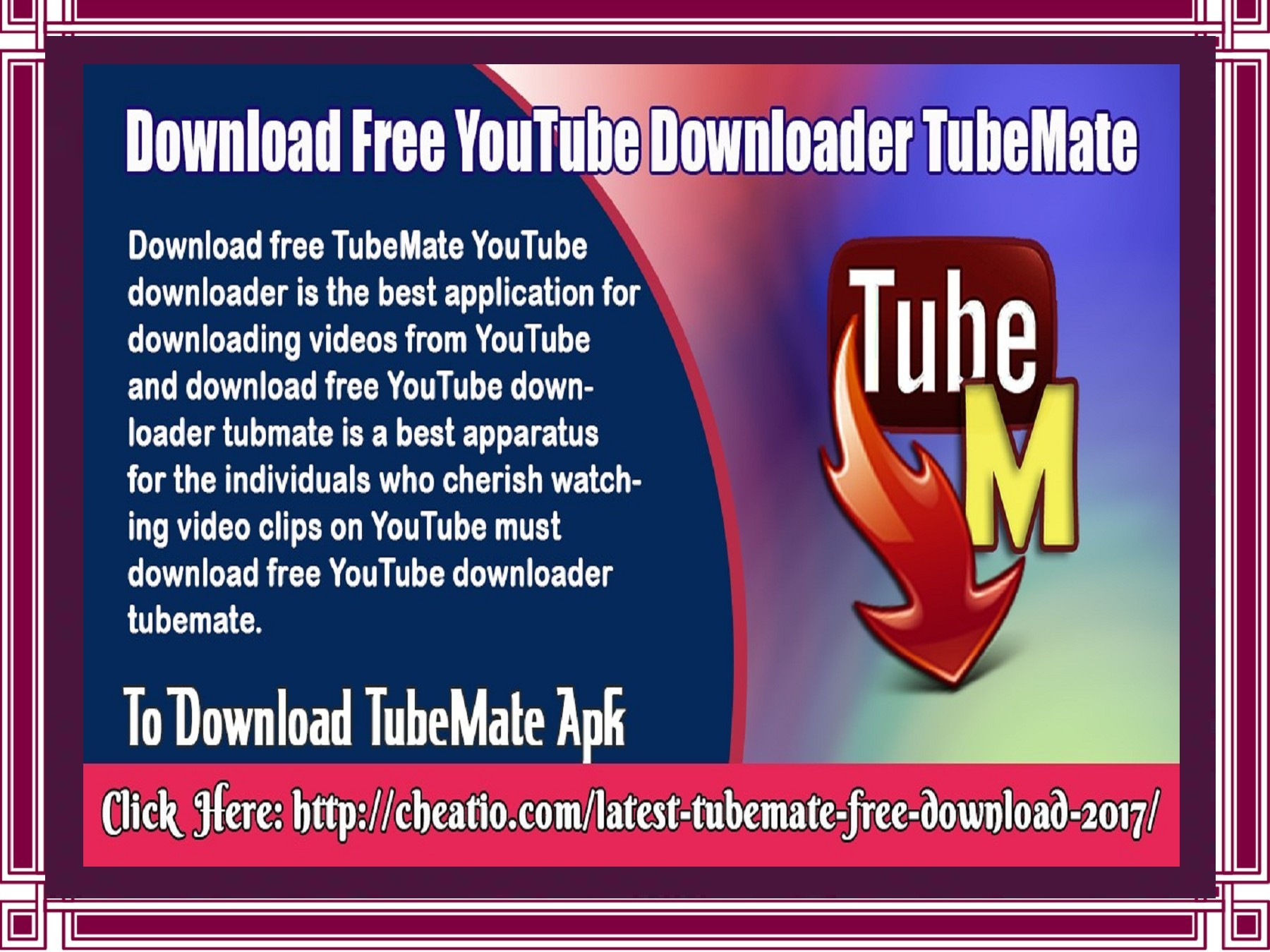 Download Free YouTube Downloader TubeMate | PubHTML5