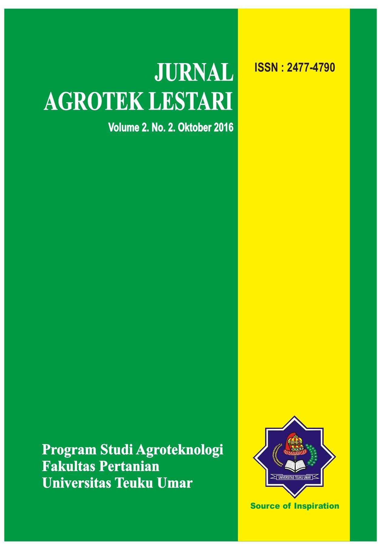 agrotek lestari vol 2, no 2, oktober 2016 pubhtml5  2 about agrotek #10
