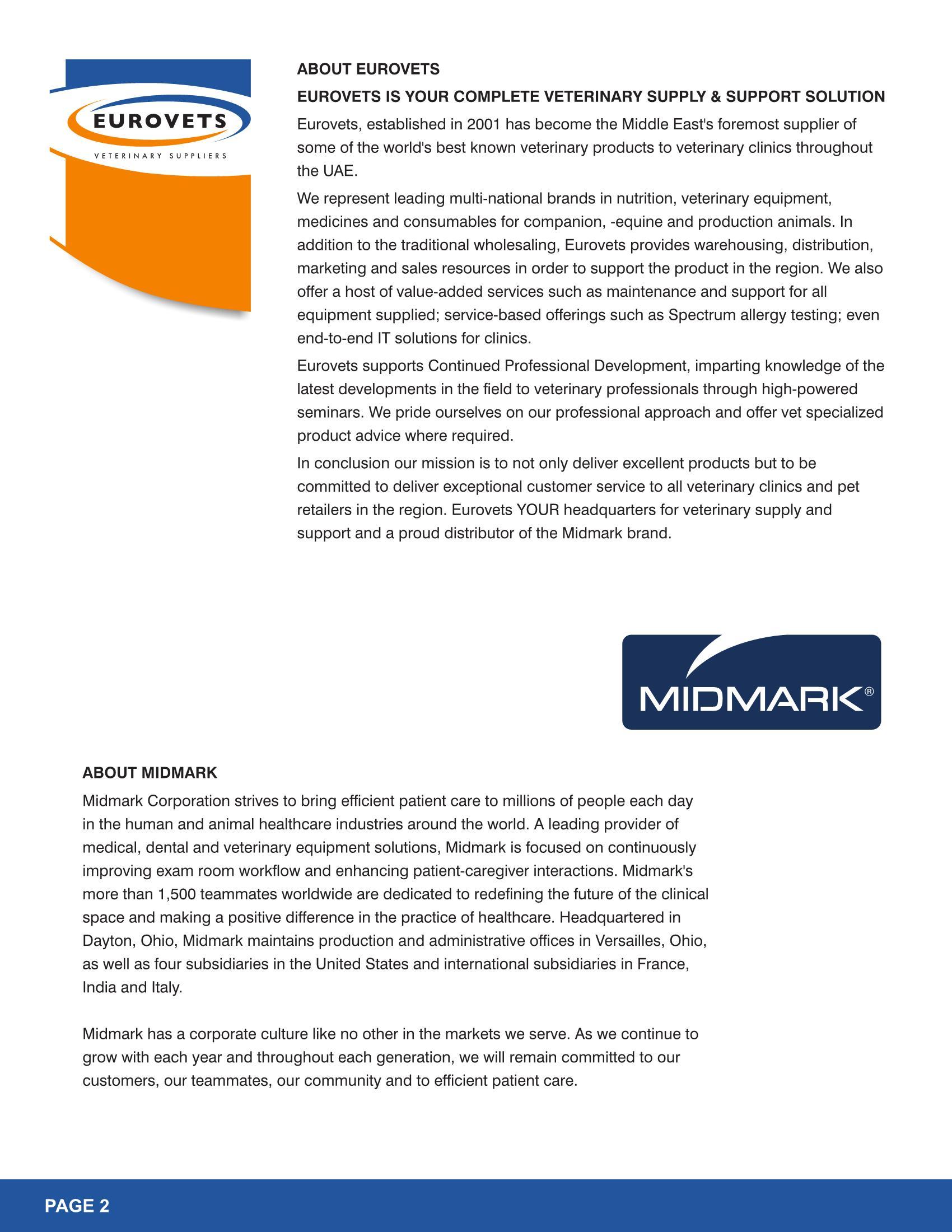 Midmark Medical, Dental, Vet Equipment Manufacturer