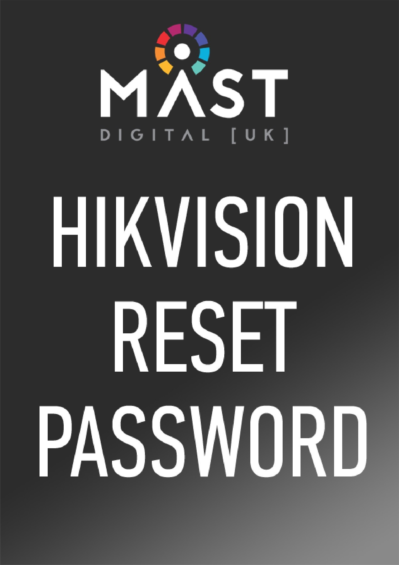 How to reset Hikvision device passwords  | PubHTML5