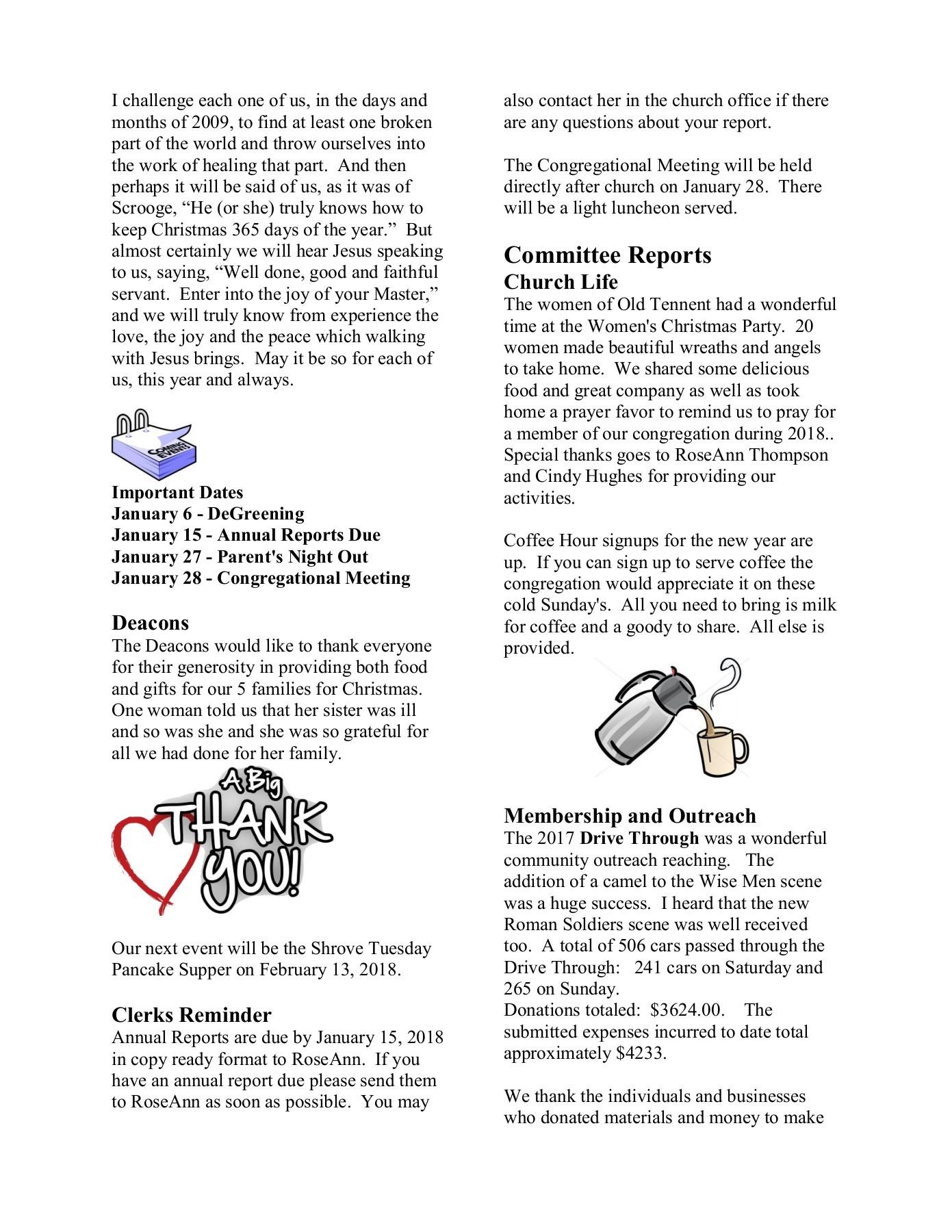 The Meetinghouse News January 2018 | PubHTML5