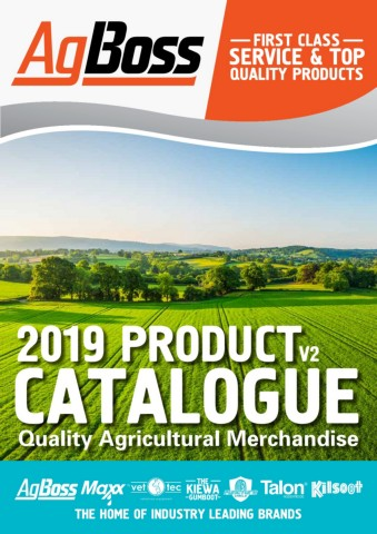 AgBoss Product Guide 2019