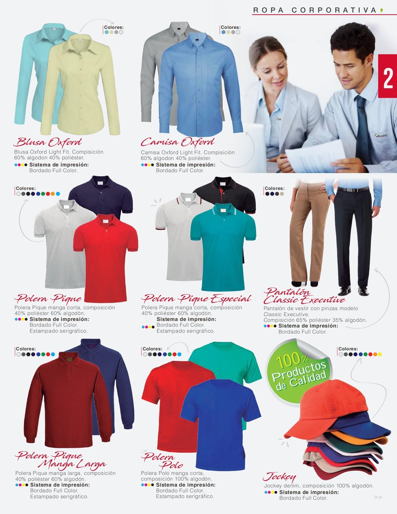 0450d6fcfe5d70 Branding Corporativo CATALOGO ROPA CORPORATIVO | PubHTML5