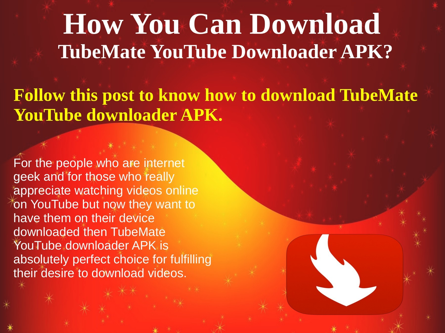 How you can download TubeMate YouTube downloader APK | PubHTML5