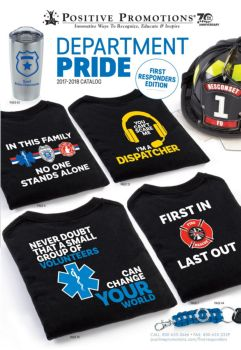 Department pride. First Responders
