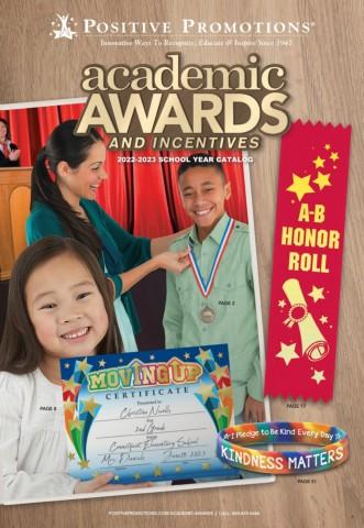 Academic Awards beginning of year