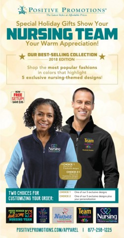 Holiday Gifts for your Nursing Team. Nurses Recognition & Appreciation