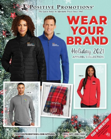 Custom Apparel. Promotional Apparel. Holiday Collection