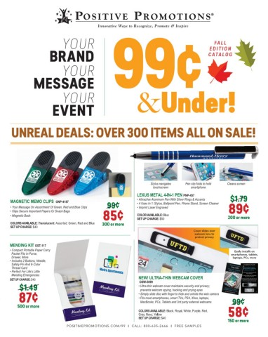 99¢ and Under