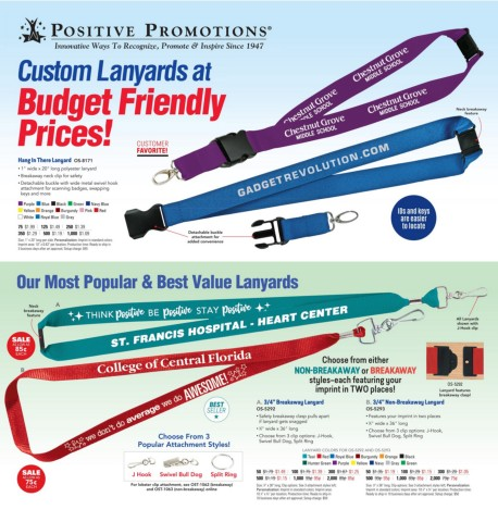 Custom Lanyards. Budget Friendly Prices