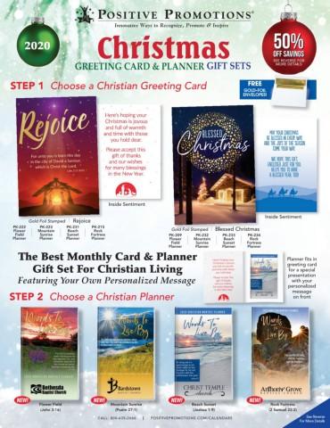 Promotional Christmas Greeting Card Calendars