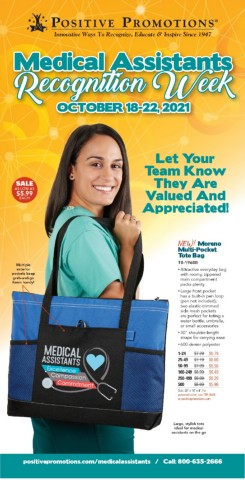 Medical Assistants gifts of appreciation and recognition