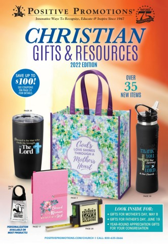 Gifts and incentives for your church or congregation