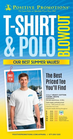 T-Shirt & Polo Blowout. Custom Apparel price busters.