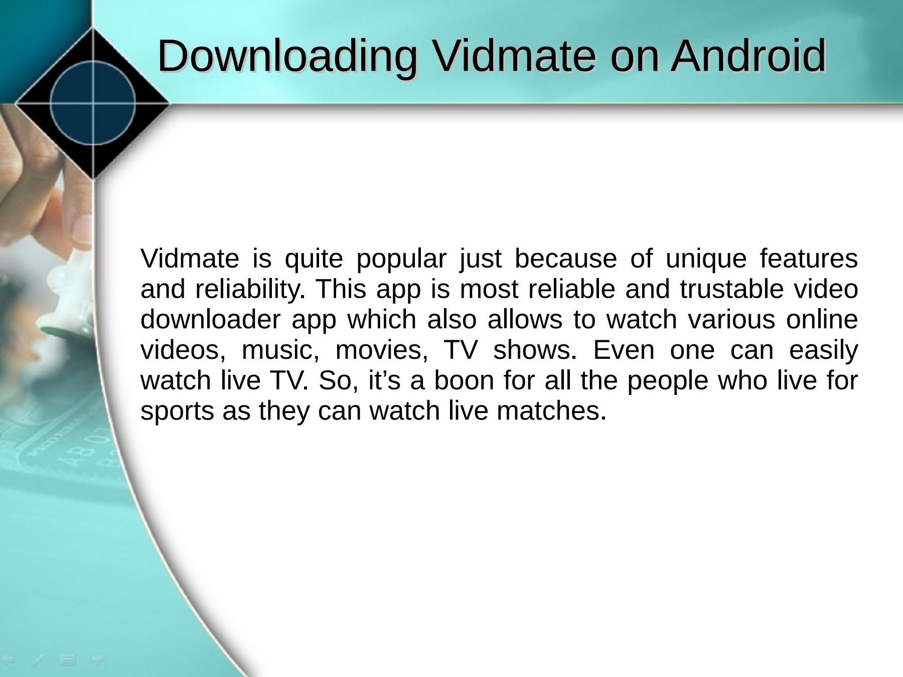 Download Vidmate For MAC, Android, Windows PC, IPhone | PubHTML5