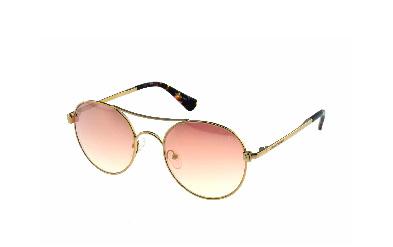Lentes de Sol para Dama, tonos rosas con efecto metálico