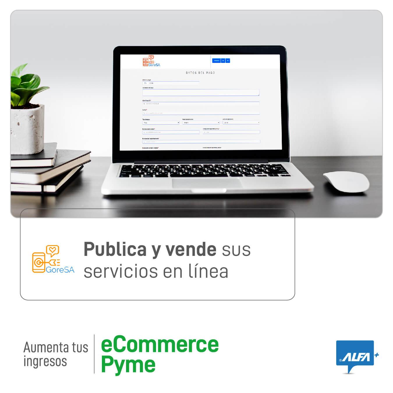 GORESA: Vendiendo servicios en línea con eCommerce Pyme