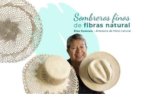 Elsa Guevara, es una de las artesanas del municipio de Camoapa.