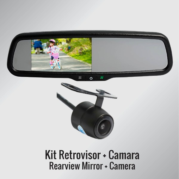 KIT DE RETROVISOR MULTIMEDI