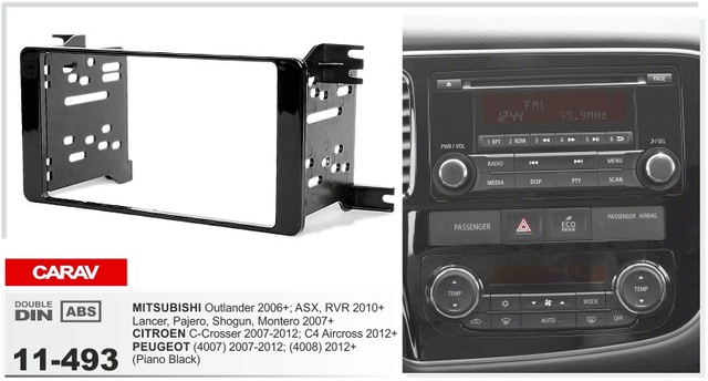 DASH CITROEN C-Crosser 2007-2012; C4 Aircross 2012+ / MITSUBISHI Outlander 2006+; Lancer, Pajero, Sh