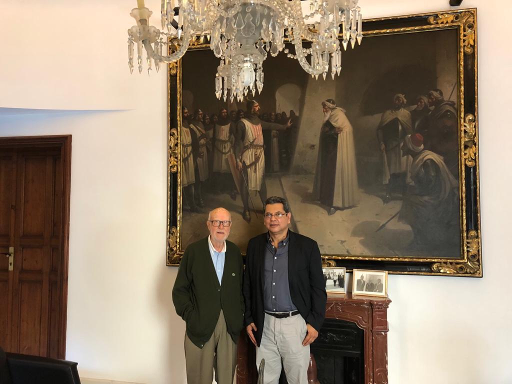 Convenio de Colaboración entre AFODENIC y La Fundación Barceló